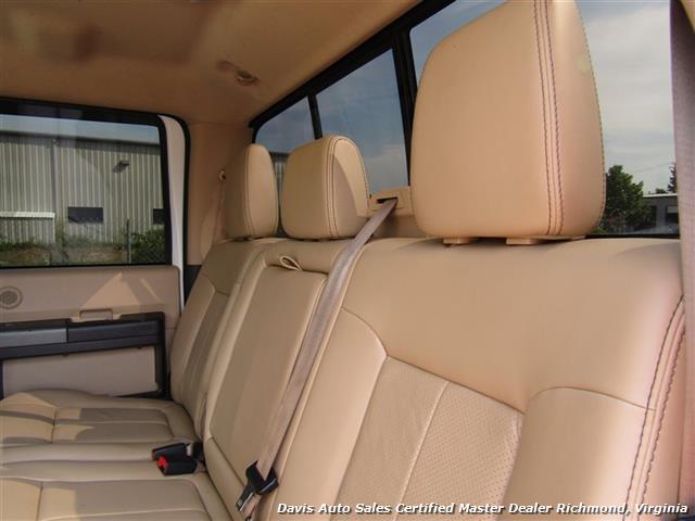 2011 Ford F-350 Super Duty Lariat 6.7 Diesel Lifted 4X4 Crew Cab - Photo 8 - Richmond, VA 23237