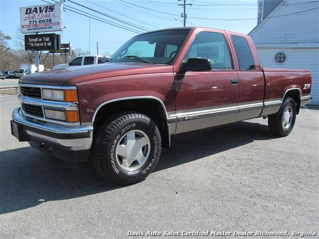 1998 Chevrolet Silverado 1500 Lt 4x4 Extended Cab Short Bed Photo 1 Richmond
