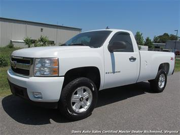 2008 Chevrolet Silverado 1500 LT1 Z71 4X4 Regular Cab Long Bed Truck