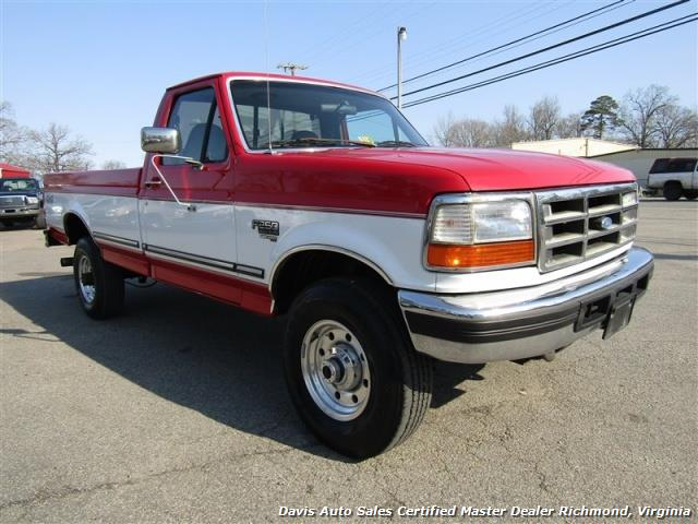 1997 ford f 250 xlt obs 7 3 diesel 4x4 regular cab long bed. Black Bedroom Furniture Sets. Home Design Ideas