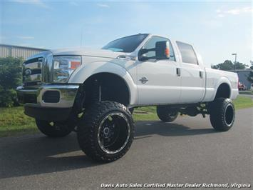 2015 Ford F-250 Diesel Lifted XLT 4X4 Crew Cab Short Bed SD Truck
