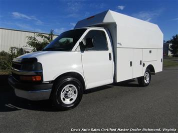 2010 Chevrolet Express 3500 Cargo Stahl Utility Bin Body Work Van