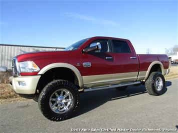 2011 Dodge Ram 2500 Laramie Longhorn Lifted Cummins Diesel 4X4 Crew Cab Short Bed HD Truck