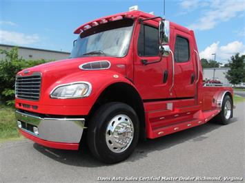 2008 Freightliner M2 106 Sports Chassis Crew Cab Flat Bed