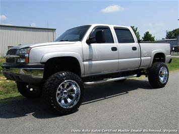 2004 Chevrolet Silverado 2500 HD LS Lifted 4X4 Crew Cab Short Bed Vortec Truck