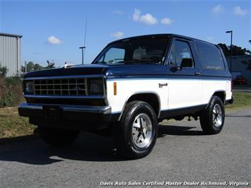 1988 Ford Bronco II XLT 4X4 SUV