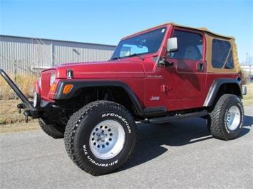 1998 Jeep Wrangler SE Convertible