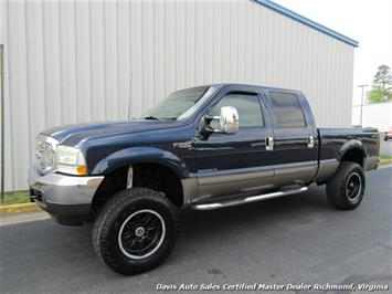 2002 Ford F-250 Super Duty Lariat 7.3 Diesel Lifted 4X4 Crew Cab Truck