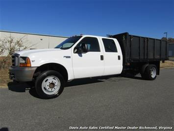 1999 Ford F-550 Super Duty XL 7.3 Power Stroke Turbo Diesel Crew Cab Dump Bed Truck