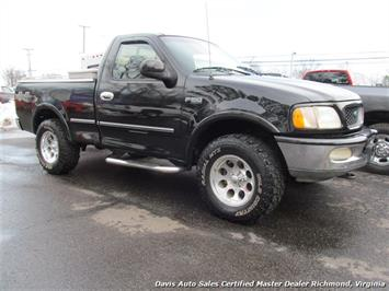 1997 Ford F-150 XLT 4X4 Regular Cab Short Bed Truck