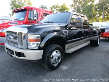 2008 Ford F-350 Super Duty King Ranch 4X4 Dually Crew Cab Long Bed Truck