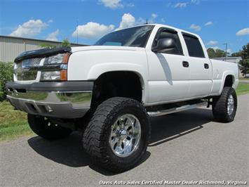 2003 Chevrolet Silverado 1500 HD LT Lifted 4X4 Crew Cab Short Bed Truck