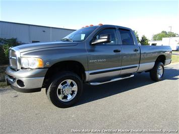 2005 Dodge Ram 2500 SLT 5.9 Cummins Diesel 4X4 Quad Cab Long Bed Truck