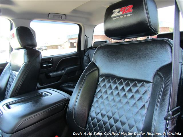 2014 GMC Sierra 1500 SLT Z92 Off Road ALC American Luxury Coach Lifted 4X4 Crew Cab - Photo 9 - Richmond, VA 23237