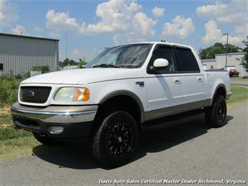 2002 Ford F-150 Lariat Lifted 4X4 SuperCrew Short Bed - Photo 1 - Richmond, VA 23237