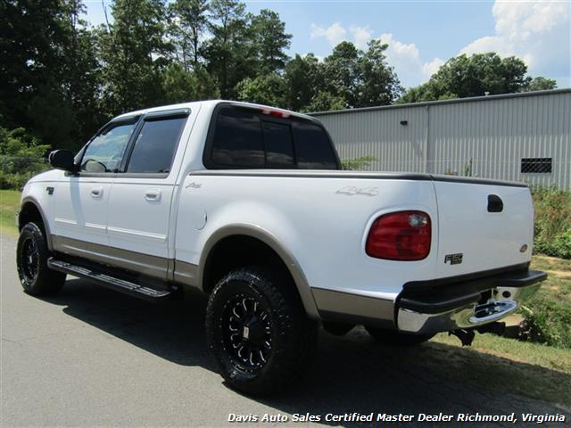 2002 Ford F-150 Lariat Lifted 4X4 SuperCrew Short Bed - Photo 3 - Richmond, VA 23237