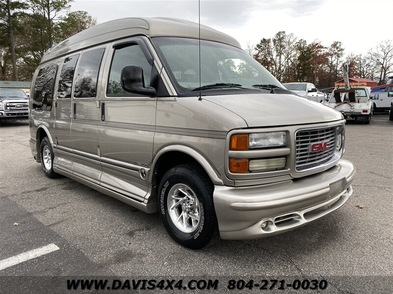 2001 gmc savana cargo 1500 explorer high top custom conversion sold 2001 gmc savana cargo 1500 explorer