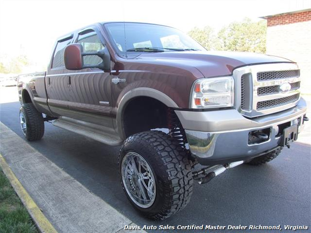 2006 ford f 350 super duty king ranch fx4 4x4 crew cab long bed. Black Bedroom Furniture Sets. Home Design Ideas