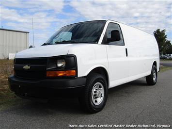 2010 Chevrolet Express G 2500 Extended Length Cargo Commercial Work Van