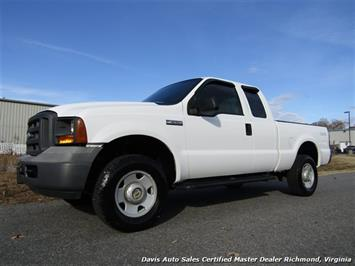2005 Ford F-250 Super Duty XL 4X4 SuperCab Short Bed Work Truck