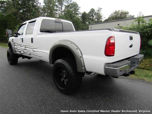 ford   super duty xlt diesel lifted  crew cab lb