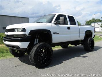 2002 Chevrolet Silverado 2500 HD LT Twin Turbo Duramax 6.6 Diesel Lifted 4X4 Solid Axle Truck