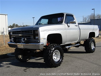 1986 Chevrolet Silverado 1500 C K 10 Lifted 4X4 Regular Cab Long Bed Truck