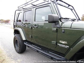 2008 Jeep Wrangler Unlimited Sahara Lifted 6 Speed Manual 4X4 Loaded - Photo 28 - Richmond, VA 23237