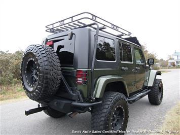 2008 Jeep Wrangler Unlimited Sahara Lifted 6 Speed Manual 4X4 Loaded - Photo 12 - Richmond, VA 23237
