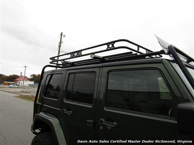 2008 Jeep Wrangler Unlimited Sahara Lifted 6 Speed Manual 4X4 Loaded - Photo 41 - Richmond, VA 23237