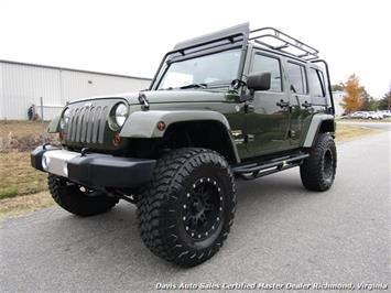 2008 Jeep Wrangler Unlimited Sahara Lifted 6 Speed Manual 4X4 Loaded SUV