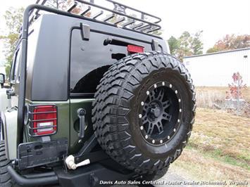 2008 Jeep Wrangler Unlimited Sahara Lifted 6 Speed Manual 4X4 Loaded - Photo 4 - Richmond, VA 23237