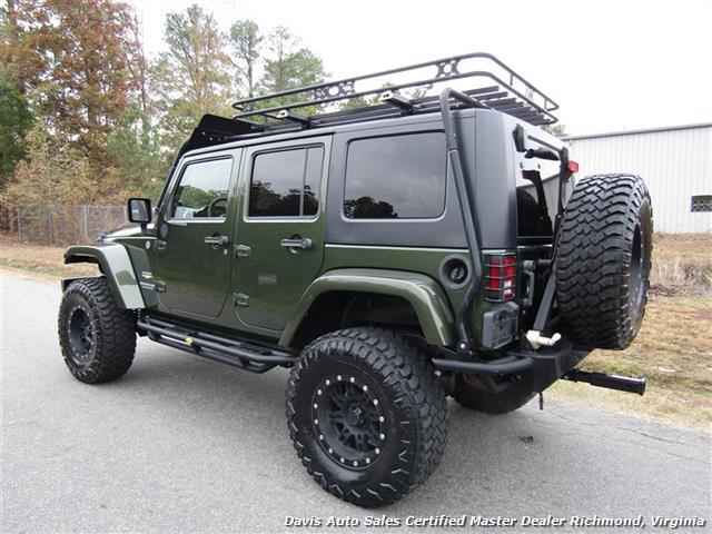 2008 Jeep Wrangler Unlimited Sahara Lifted 6 Speed Manual 4X4 Loaded - Photo 3 - Richmond, VA 23237