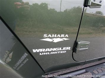 2008 Jeep Wrangler Unlimited Sahara Lifted 6 Speed Manual 4X4 Loaded - Photo 22 - Richmond, VA 23237