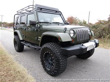 2008 Jeep Wrangler Unlimited Sahara Lifted 6 Speed Manual 4X4 Loaded - Photo 11 - Richmond, VA 23237