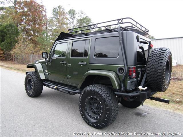 2008 Jeep Wrangler Unlimited Sahara Lifted 6 Speed Manual 4X4 Loaded - Photo 15 - Richmond, VA 23237