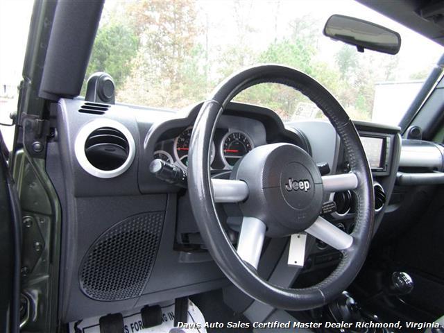2008 Jeep Wrangler Unlimited Sahara Lifted 6 Speed Manual 4X4 Loaded - Photo 6 - Richmond, VA 23237
