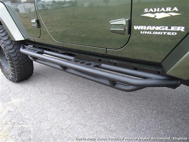 2008 Jeep Wrangler Unlimited Sahara Lifted 6 Speed Manual 4X4 Loaded - Photo 32 - Richmond, VA 23237