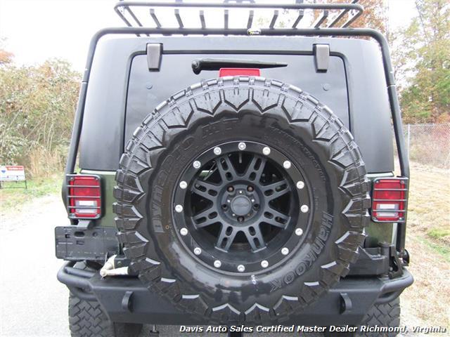 2008 Jeep Wrangler Unlimited Sahara Lifted 6 Speed Manual 4X4 Loaded - Photo 14 - Richmond, VA 23237
