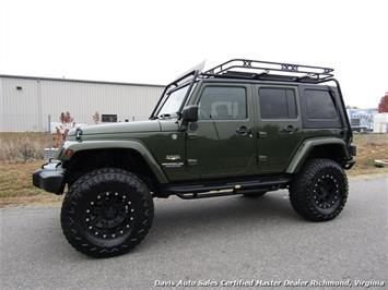 2008 Jeep Wrangler Unlimited Sahara Lifted 6 Speed Manual 4X4 Loaded - Photo 2 - Richmond, VA 23237