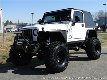 2004 Jeep Wrangler Rubicon Lifted 4X4 Off Road Trail 2 Door SUV