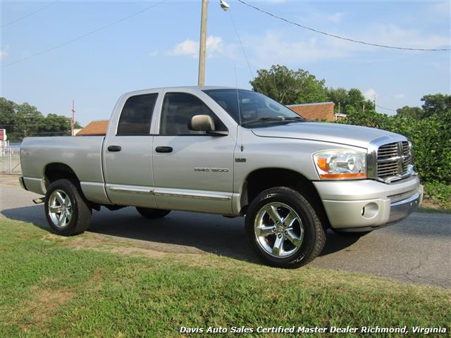 2006 Dodge Ram 1500 SLT 4X4 Hemi Crew Quad Cab Short Bed - Photo 14 - Richmond, VA 23237