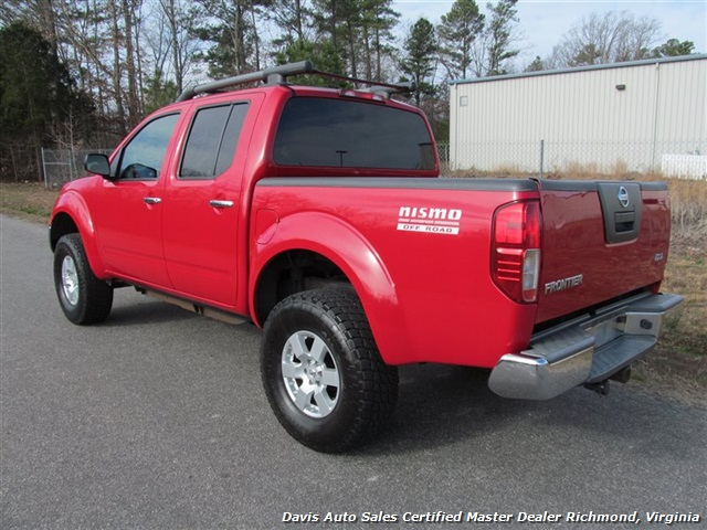 2008 nissan frontier nismo lifted 4x4 crew cab short bed. Black Bedroom Furniture Sets. Home Design Ideas