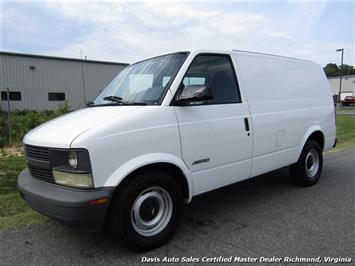 2000 Chevrolet Astro Cargo Commercial Work Van