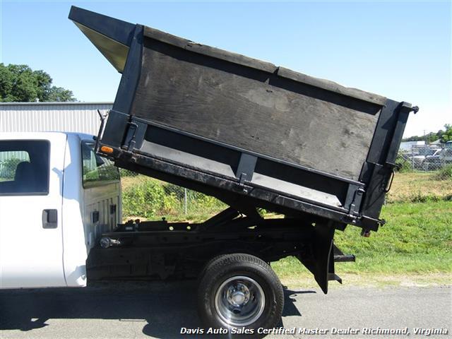 2001 Ford F-350 Super Duty XL 7.3 Diesel 4X4 Crew Cab Dump Bed - Photo 22 - Richmond, VA 23237