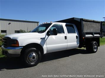 2001 Ford F-350 Super Duty XL 7.3 Diesel 4X4 Crew Cab Dump Bed Truck