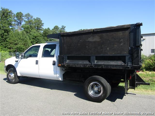 2001 Ford F-350 Super Duty XL 7.3 Diesel 4X4 Crew Cab Dump Bed - Photo 3 - Richmond, VA 23237