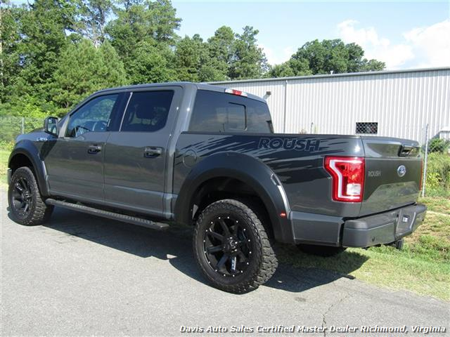 2016 Ford F 150 Roush Edition Supercharged Lifted 4x4 Sold Photo 3