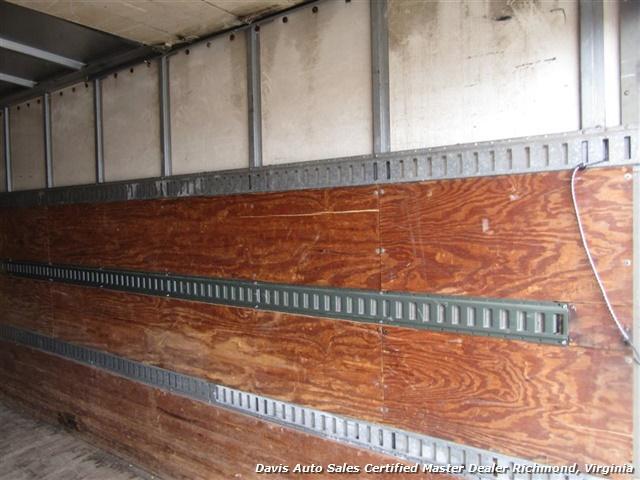 1995 Ford F700 CF7000 Cargo Series Diesel Roll Up 24 Foot Box Truck Van - Photo 5 - Richmond, VA 23237