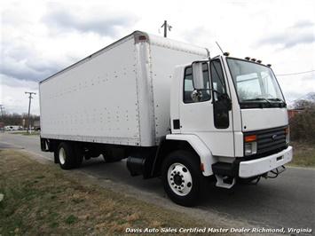 1995 Ford F700 CF7000 Cargo Series Diesel Roll Up 24 Foot Box Truck Van - Photo 21 - Richmond, VA 23237